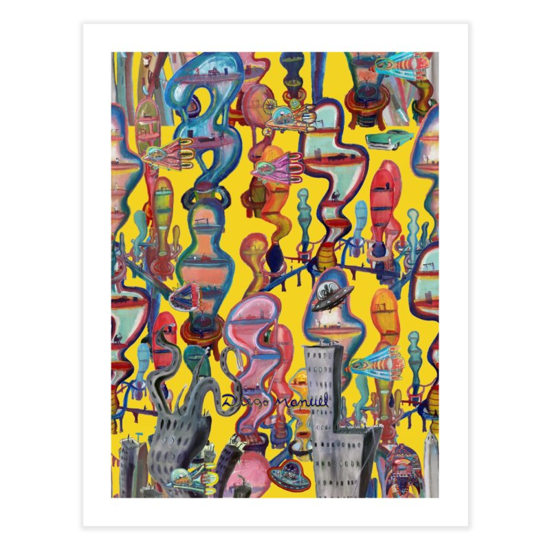 city 1 Home Fine Art Print by Diego Manuel Rodriguez Artist Shop