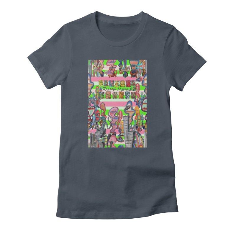 city 14 Women's T-Shirt by Diego Manuel Rodriguez Artist Shop