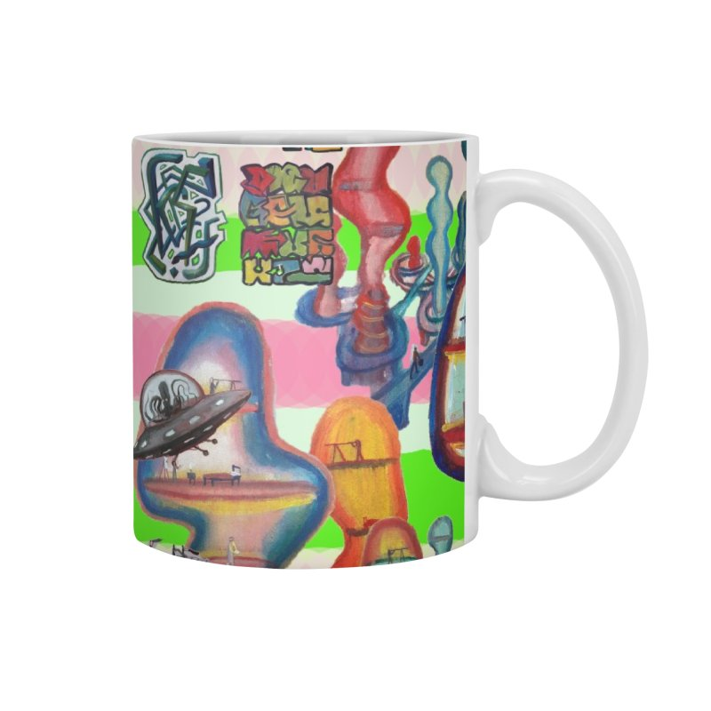 city 14 Accessories Mug by Diego Manuel Rodriguez Artist Shop