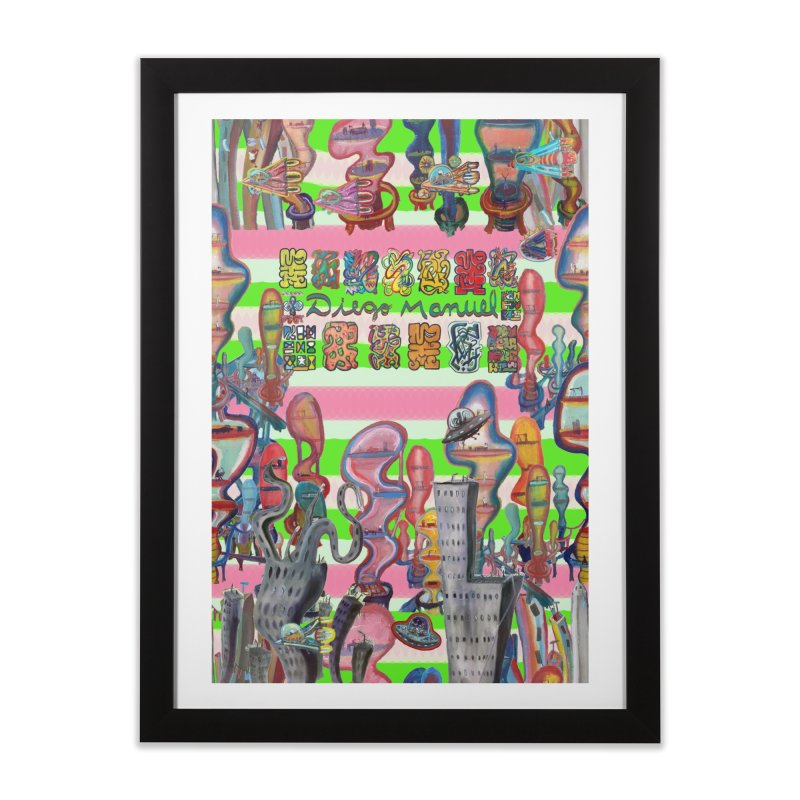 city 14 Home Framed Fine Art Print by Diego Manuel Rodriguez Artist Shop