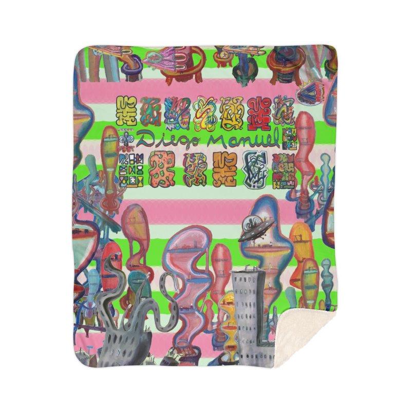 city 14 Home Blanket by Diego Manuel Rodriguez Artist Shop