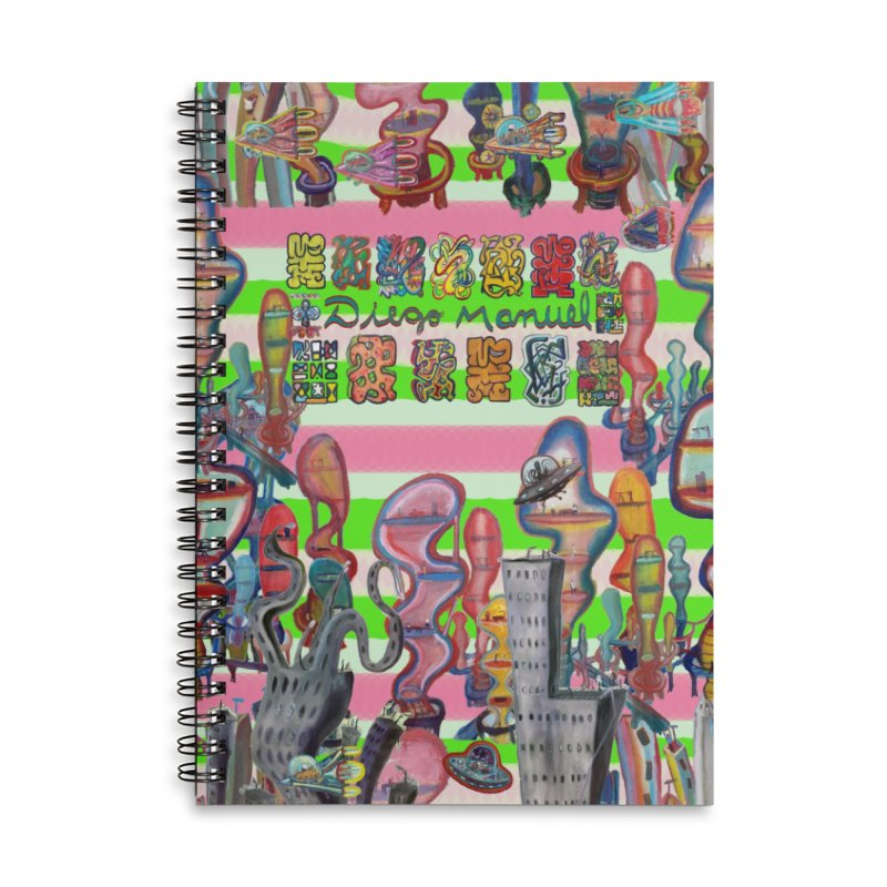 city 14 Accessories Notebook by Diego Manuel Rodriguez Artist Shop