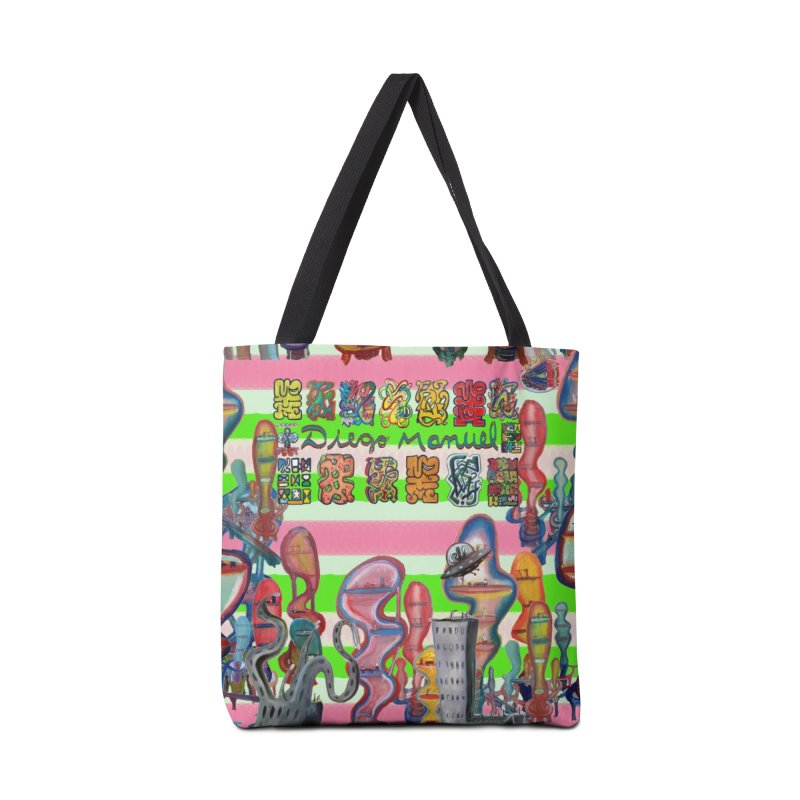 city 14 Accessories Bag by Diego Manuel Rodriguez Artist Shop