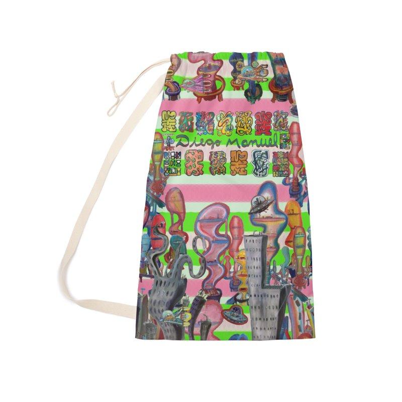city 14 Accessories Bag by Diego Manuel Rodriguez Artist Shop
