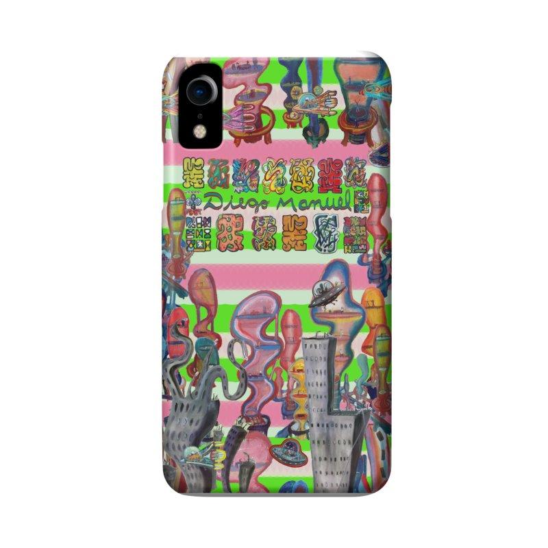 city 14 Accessories Phone Case by Diego Manuel Rodriguez Artist Shop