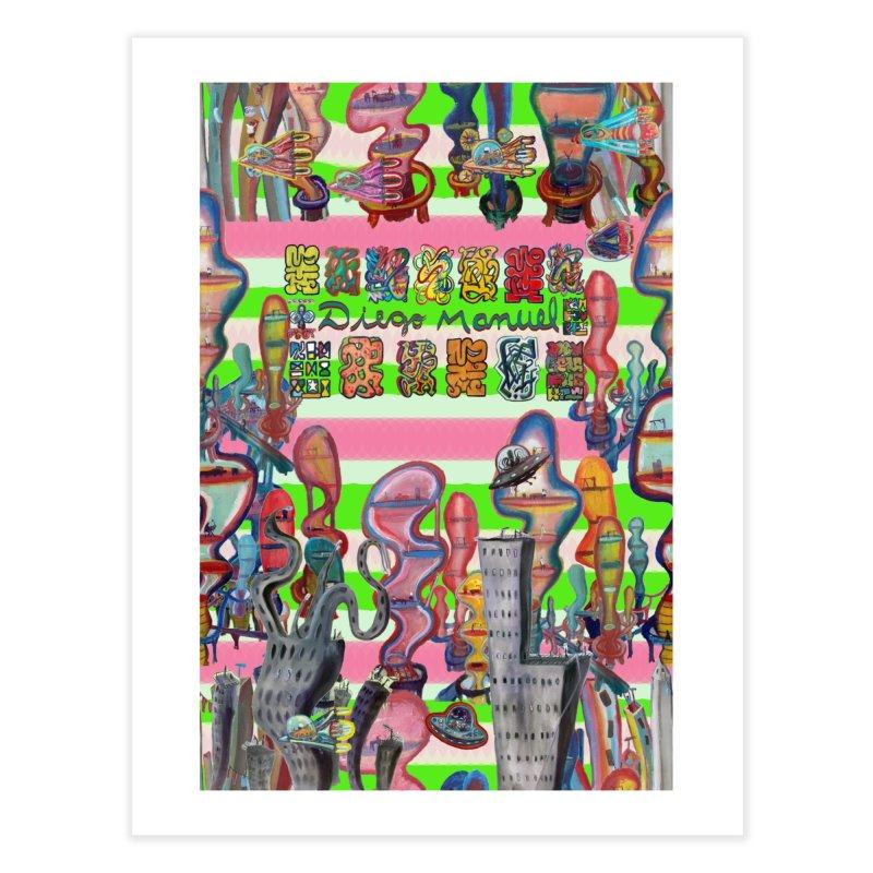 city 14 Home Fine Art Print by Diego Manuel Rodriguez Artist Shop