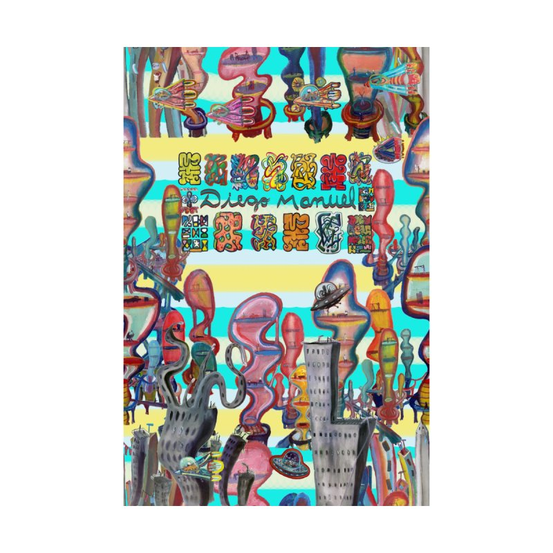 city 11 Accessories Greeting Card by Diego Manuel Rodriguez Artist Shop