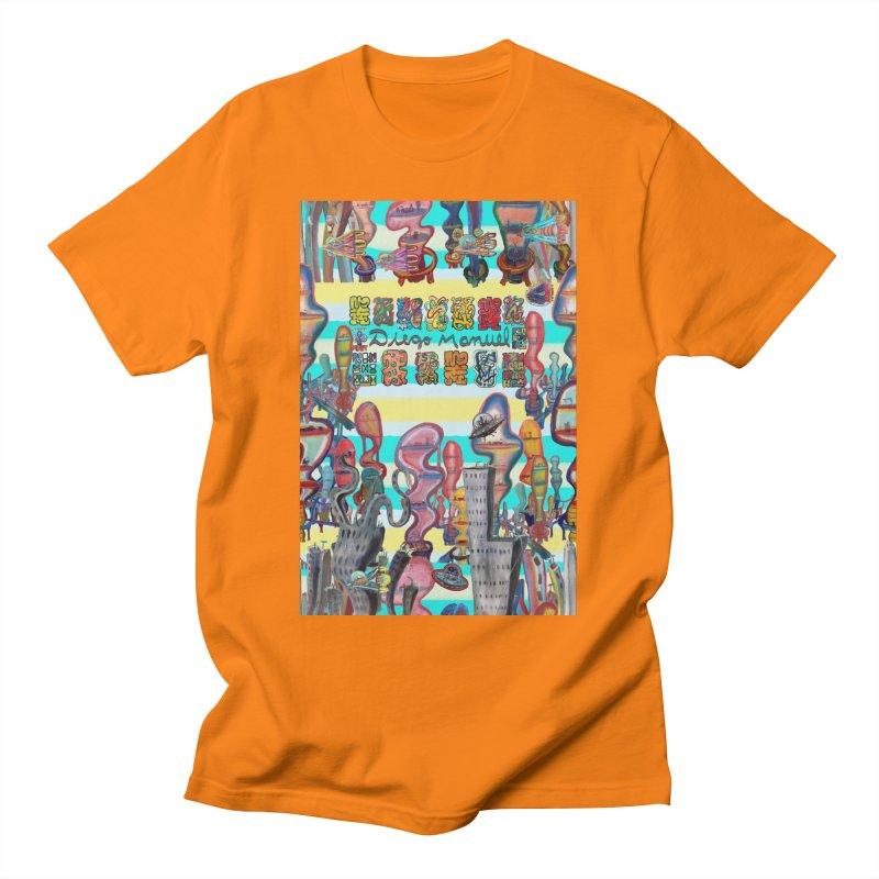 city 11 Men's T-Shirt by Diego Manuel Rodriguez Artist Shop