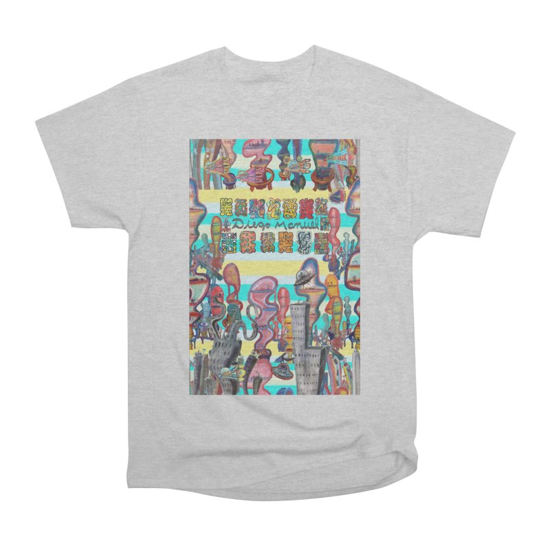 city 11 Men's T-Shirt by Diego Manuel Rodriguez Artist Shop