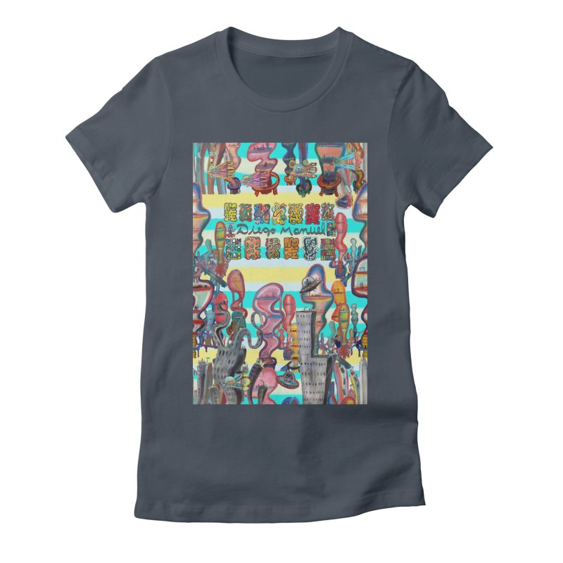 city 11 Women's T-Shirt by Diego Manuel Rodriguez Artist Shop
