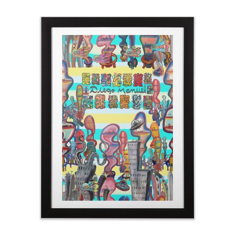 city 11 Home Framed Fine Art Print by Diego Manuel Rodriguez Artist Shop