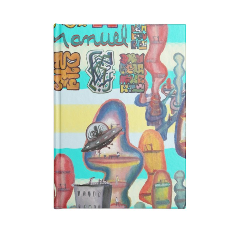 city 11 Accessories Notebook by Diego Manuel Rodriguez Artist Shop