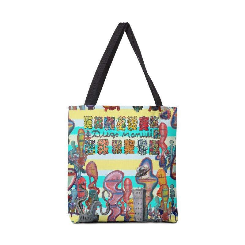 city 11 Accessories Bag by Diego Manuel Rodriguez Artist Shop