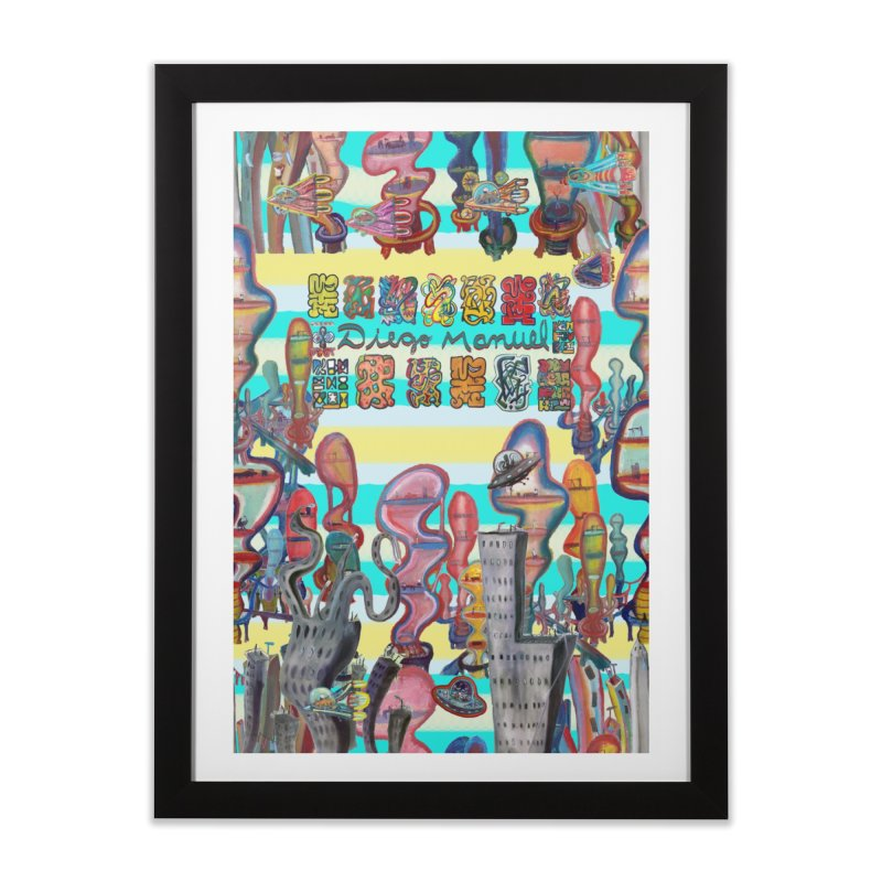 city 11 Home Framed Fine Art Print by Diego Manuel Rodriguez Artist Shop