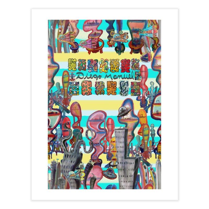 city 11 Home Fine Art Print by Diego Manuel Rodriguez Artist Shop
