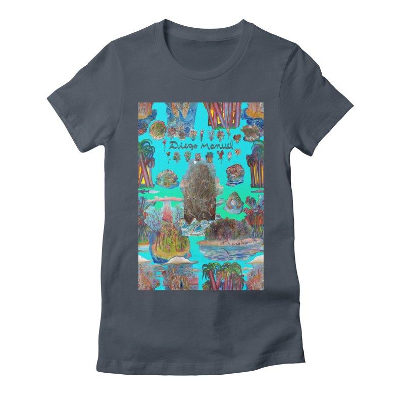 Nature 11 Women's T-Shirt by Diego Manuel Rodriguez Artist Shop
