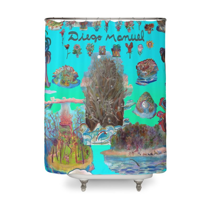 Nature 11 Home Shower Curtain by Diego Manuel Rodriguez Artist Shop