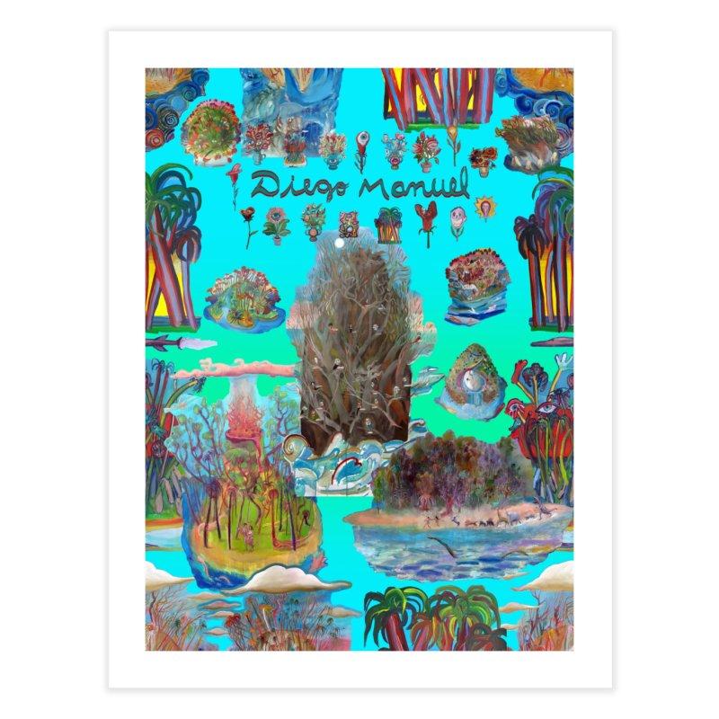 Nature 11 Home Fine Art Print by Diego Manuel Rodriguez Artist Shop