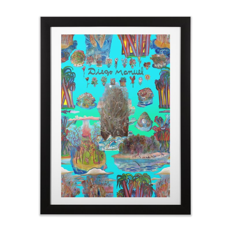 Nature 11 Home Framed Fine Art Print by Diego Manuel Rodriguez Artist Shop