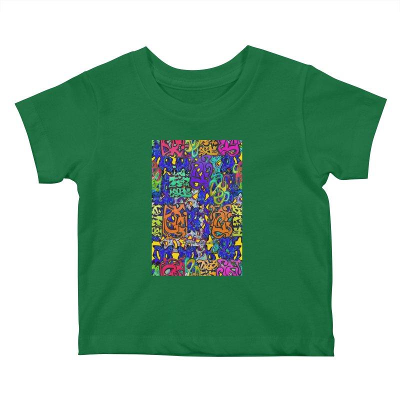Graffiti 23 Kids Baby T-Shirt by Diego Manuel Rodriguez Artist Shop