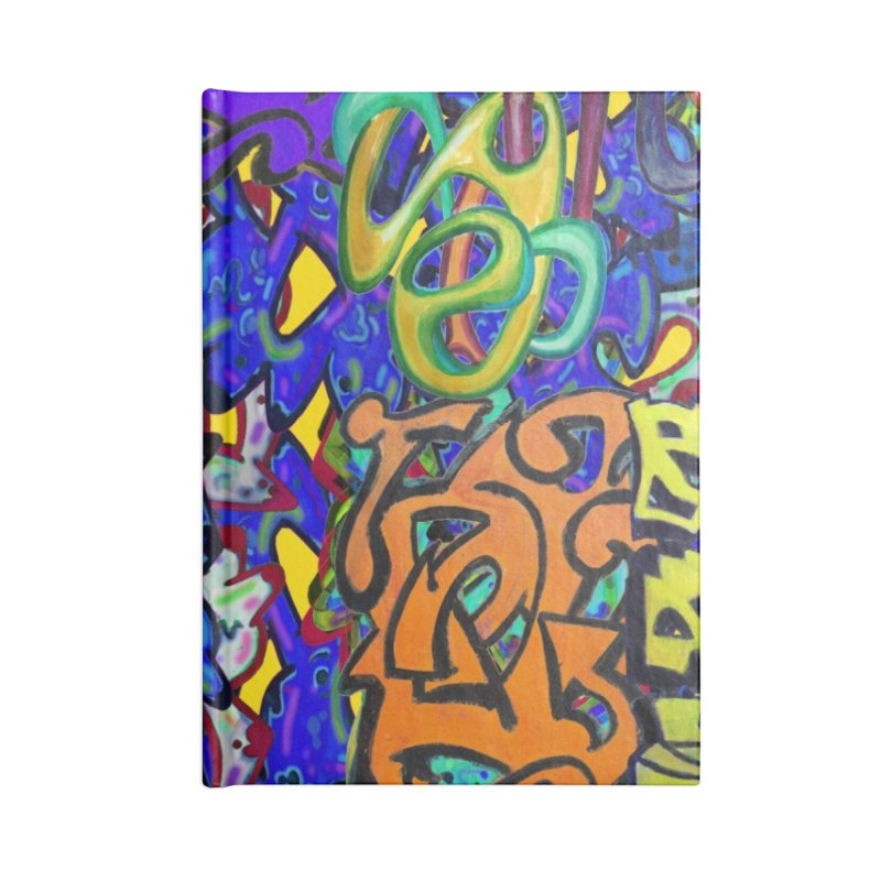 Graffiti 23 Accessories Notebook by Diego Manuel Rodriguez Artist Shop