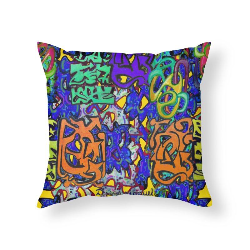Graffiti 23 Home Throw Pillow by Diego Manuel Rodriguez Artist Shop