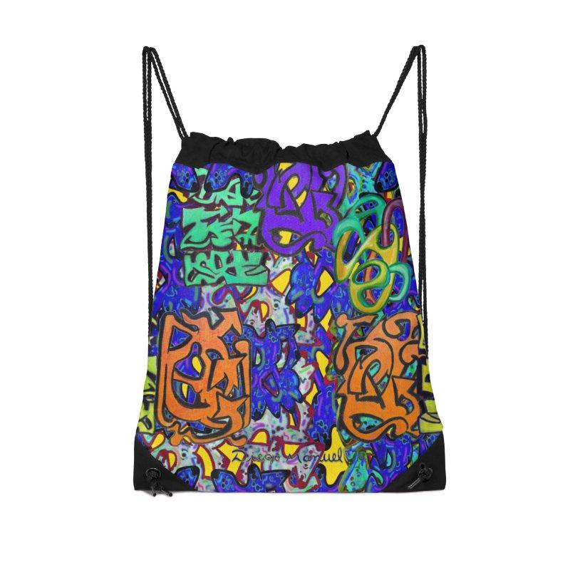 Graffiti 23 Accessories Bag by Diego Manuel Rodriguez Artist Shop