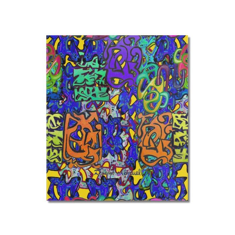 Graffiti 23 Home Mounted Acrylic Print by Diego Manuel Rodriguez Artist Shop