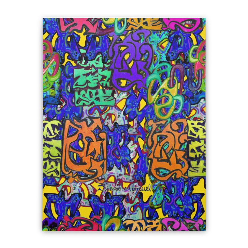 Graffiti 23 Home Stretched Canvas by Diego Manuel Rodriguez Artist Shop