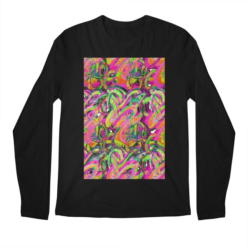 shapes 18 10 Men's Longsleeve T-Shirt by Diego Manuel Rodriguez Artist Shop