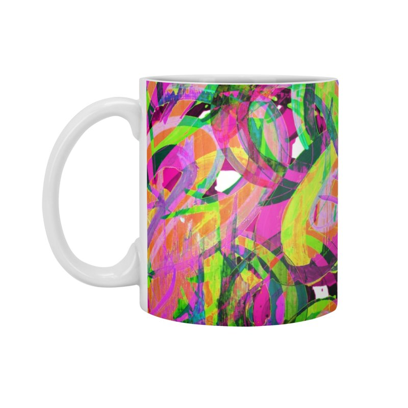shapes 18 10 Accessories Mug by Diego Manuel Rodriguez Artist Shop