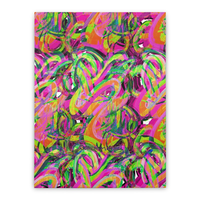 shapes 18 10 Home Stretched Canvas by Diego Manuel Rodriguez Artist Shop