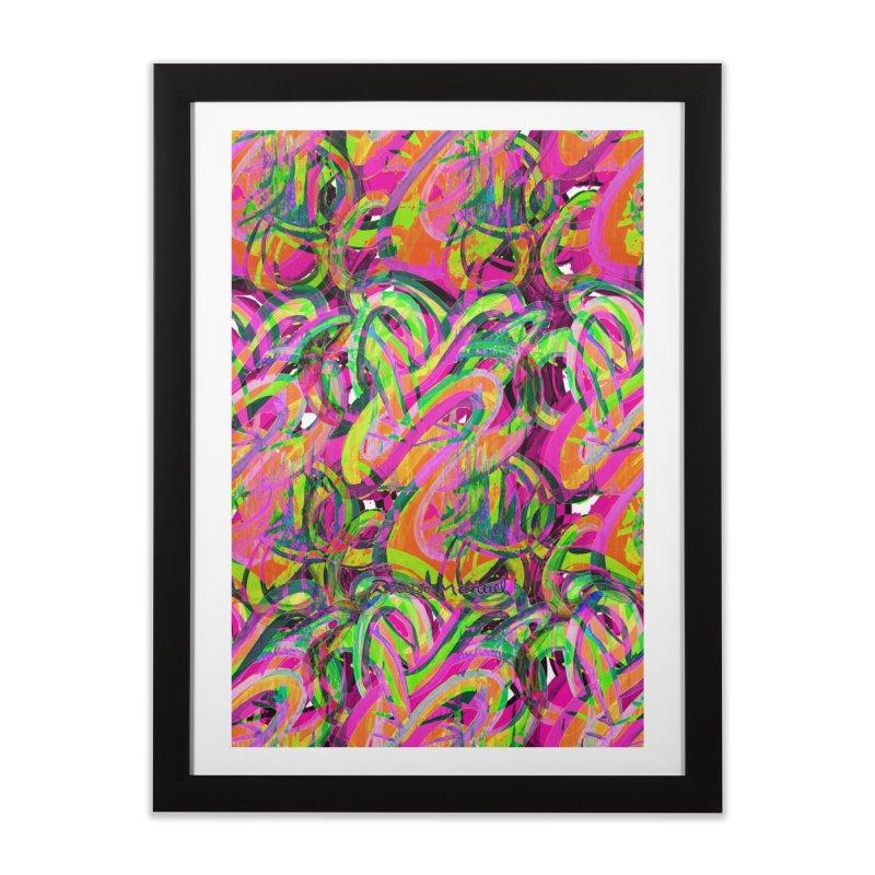 shapes 18 10 Home Framed Fine Art Print by Diego Manuel Rodriguez Artist Shop