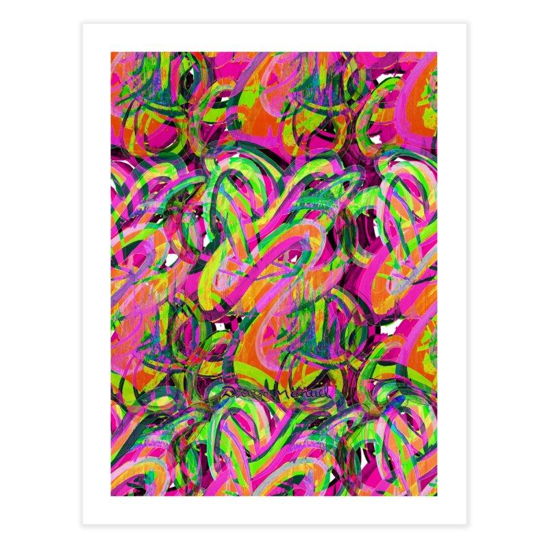 shapes 18 10 Home Fine Art Print by Diego Manuel Rodriguez Artist Shop