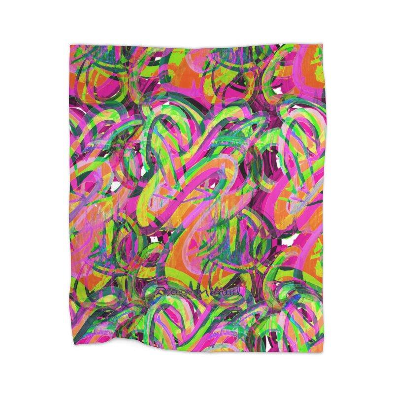 shapes 18 10 Home Blanket by Diego Manuel Rodriguez Artist Shop