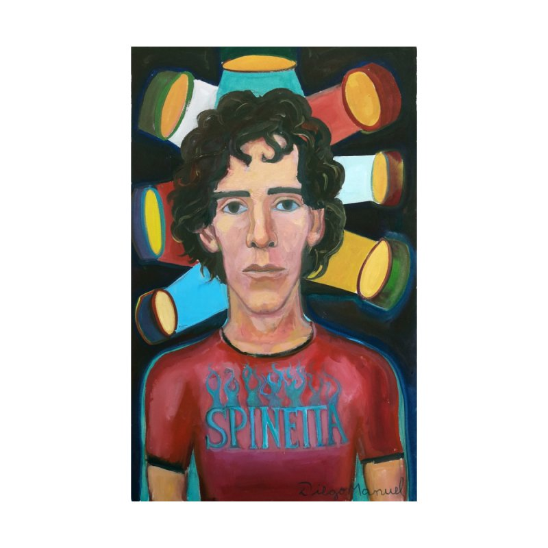 Luis Alberto rockstar Women's Longsleeve T-Shirt by Diego Manuel Rodriguez Artist Shop