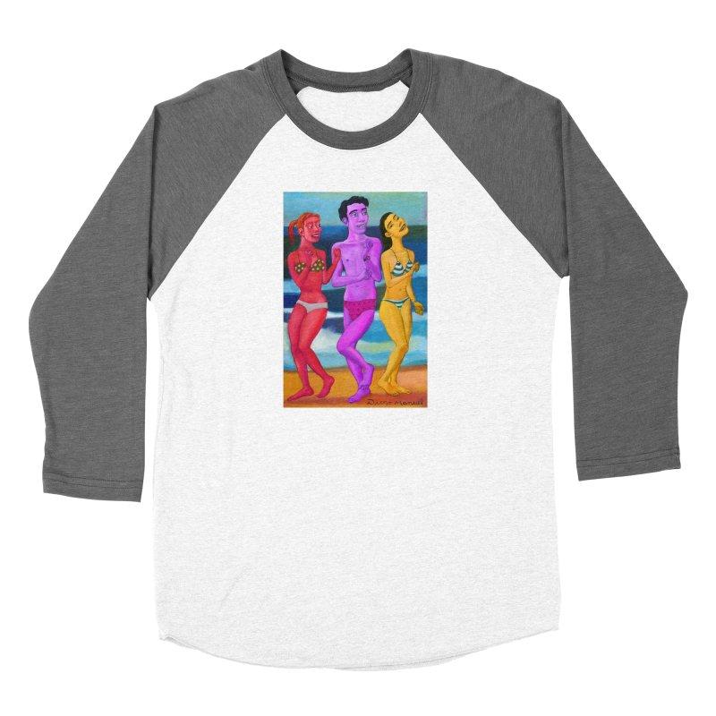 Dancing on the beach 7 3 Women's Longsleeve T-Shirt by Diego Manuel Rodriguez Artist Shop