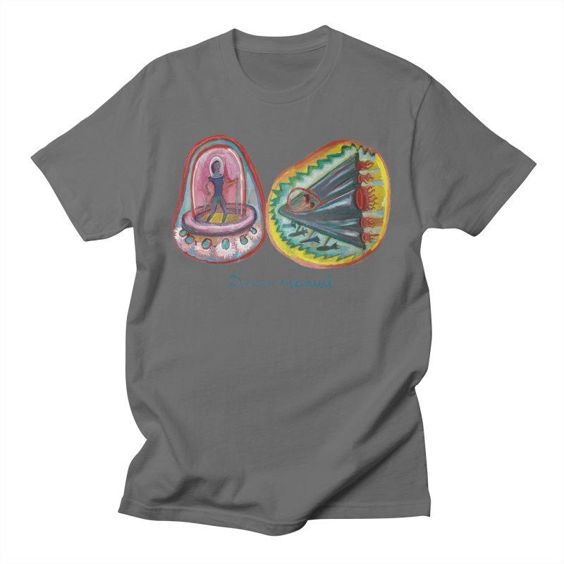 space battle Men's T-Shirt by Diego Manuel Rodriguez Artist Shop
