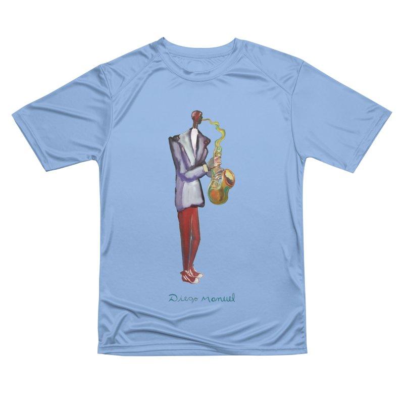 great sax Women's T-Shirt by Diego Manuel Rodriguez Artist Shop