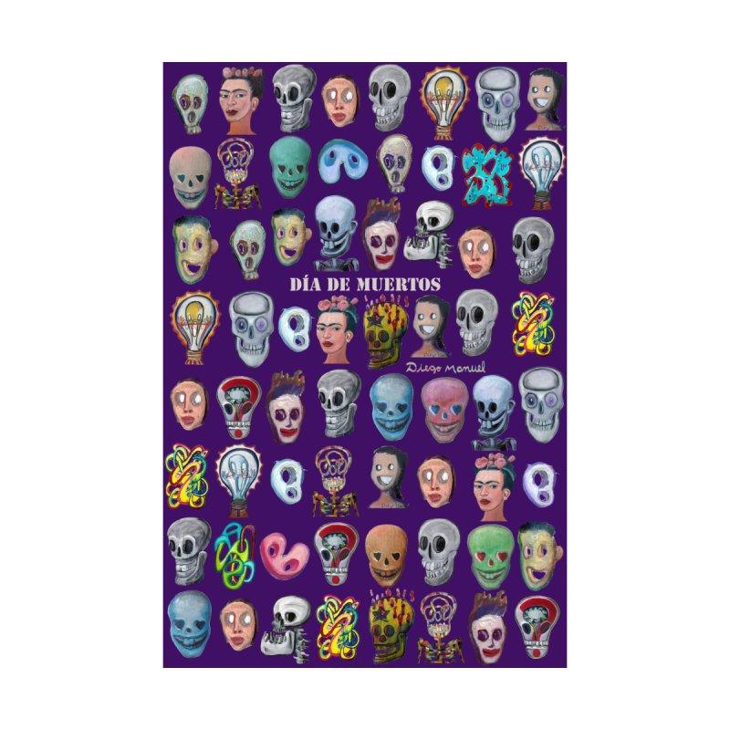 Dia de muertos Women's V-Neck by Diego Manuel Rodriguez Artist Shop