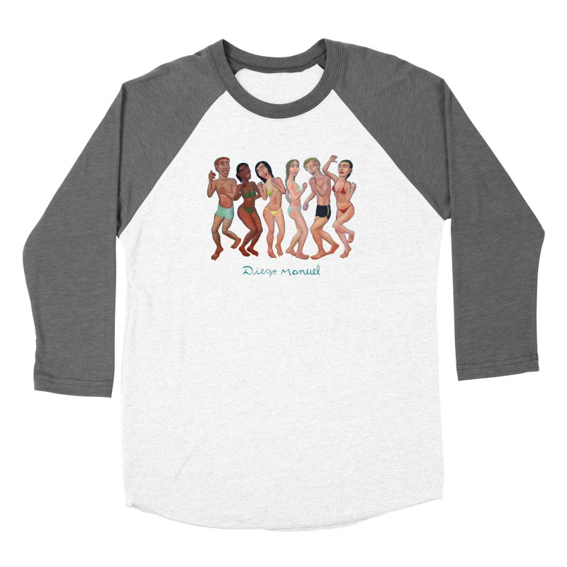 Beach party Women's Longsleeve T-Shirt by Diego Manuel Rodriguez Artist Shop