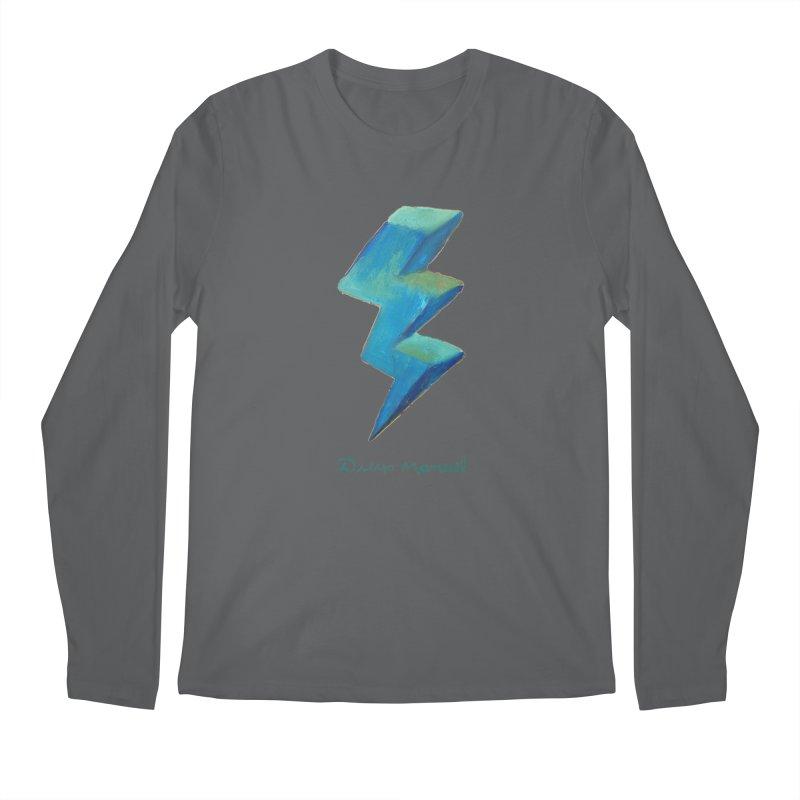 Blue ray Men's Longsleeve T-Shirt by Diego Manuel Rodriguez Artist Shop