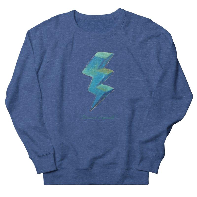 Blue ray Men's Sweatshirt by Diego Manuel Rodriguez Artist Shop