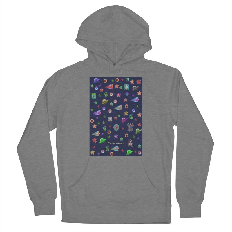 Space Women's Pullover Hoody by Diego Manuel Rodriguez Artist Shop
