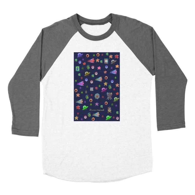 Space Women's Longsleeve T-Shirt by Diego Manuel Rodriguez Artist Shop