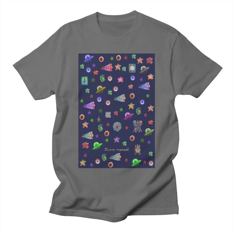 Space Men's T-Shirt by Diego Manuel Rodriguez Artist Shop