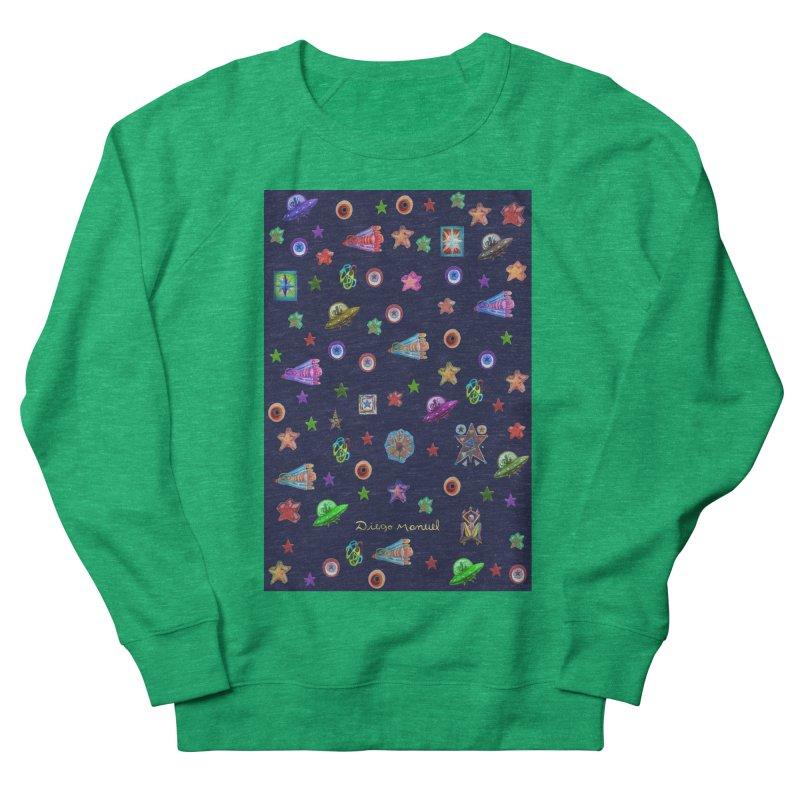 Space Women's Sweatshirt by Diego Manuel Rodriguez Artist Shop