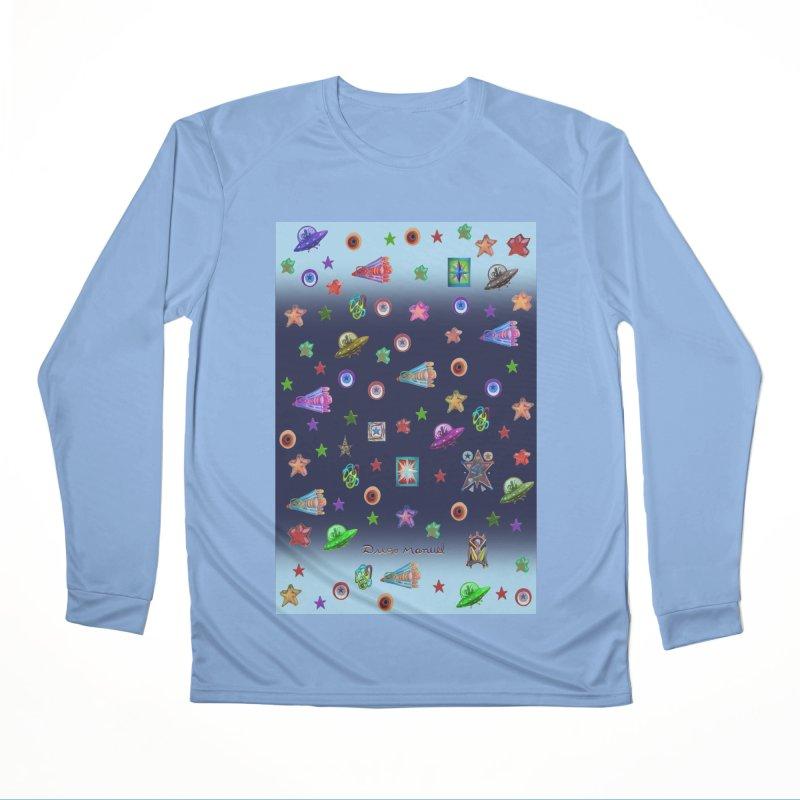 The space Men's Longsleeve T-Shirt by Diego Manuel Rodriguez Artist Shop