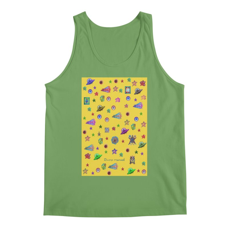 the space Men's Tank by Diego Manuel Rodriguez Artist Shop