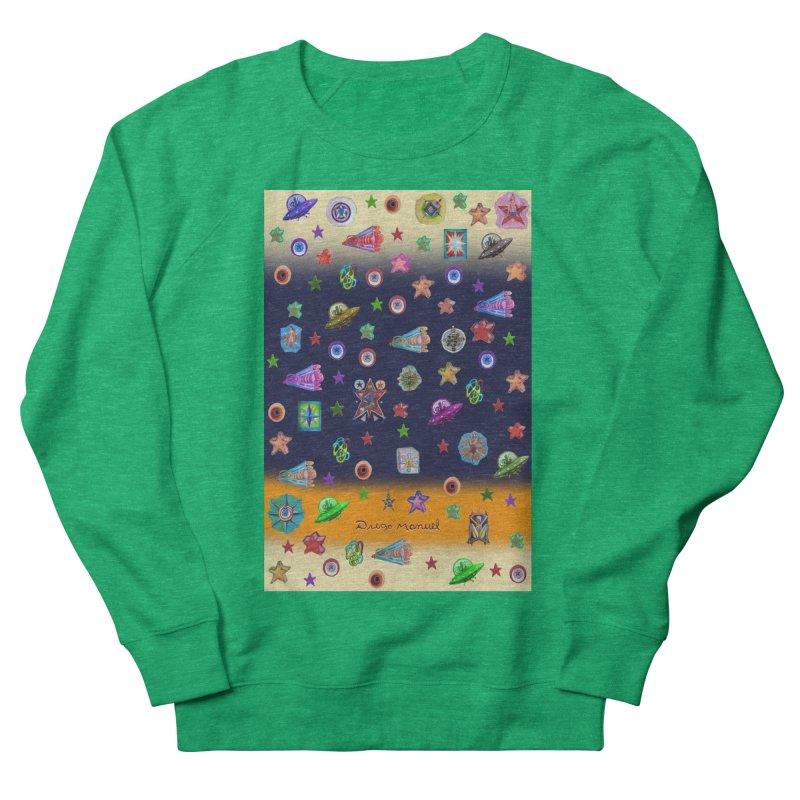 The space Women's Sweatshirt by Diego Manuel Rodriguez Artist Shop